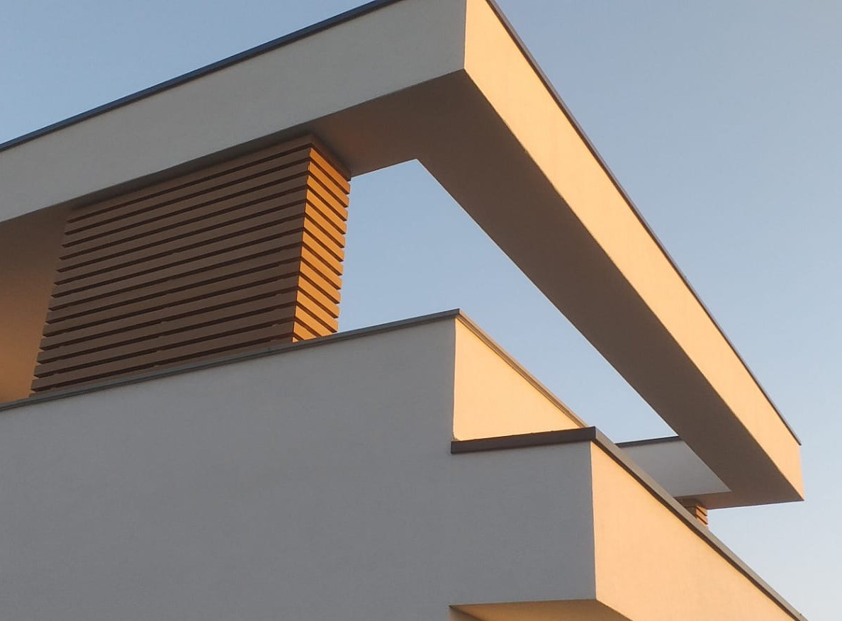 Rivestimento frangisole parete esterna a Lodi