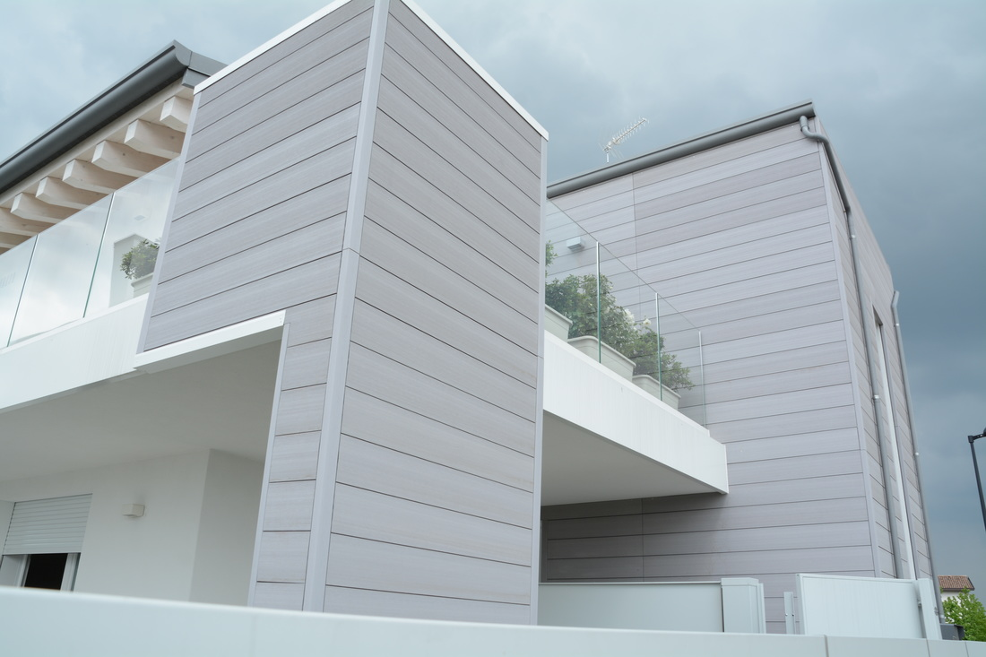 Rivestimenti esterni modulari per abitazione