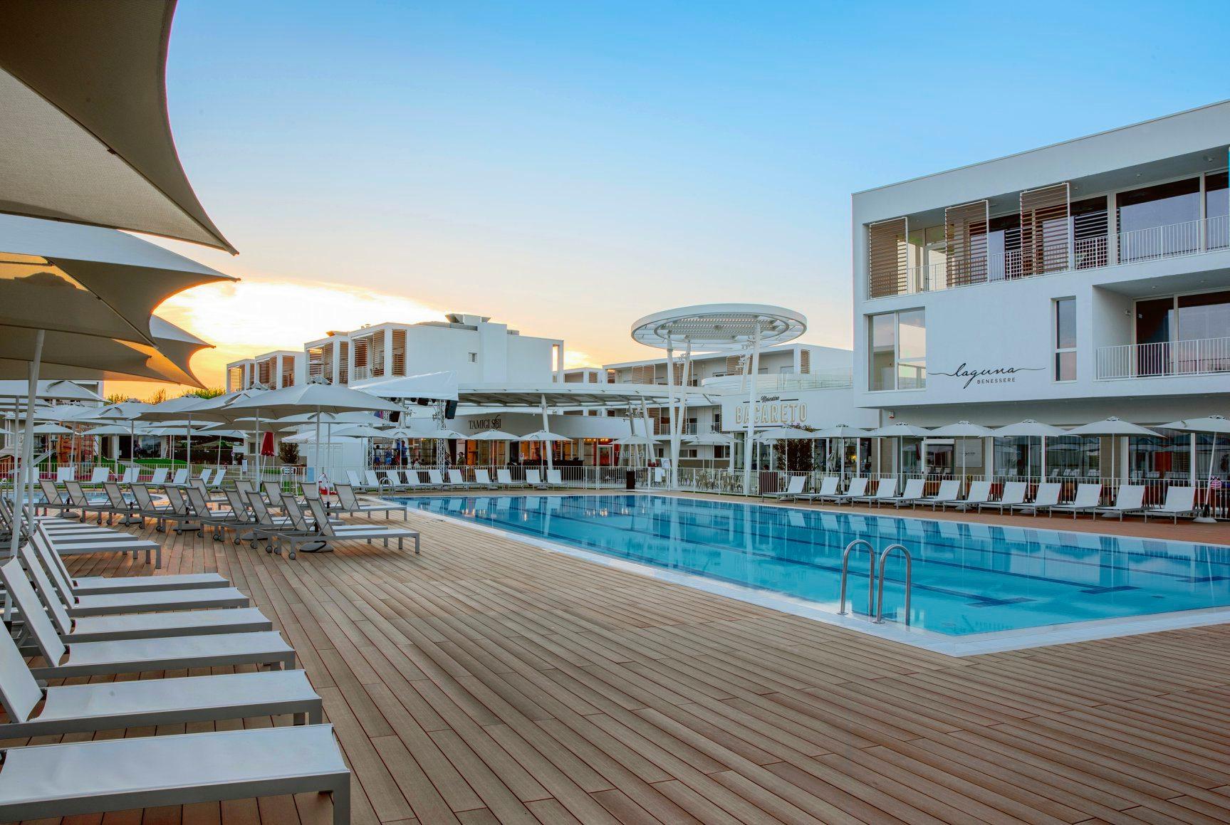 Pavimento piscina in WPC, Hapimag Resort – Cavallino Treporti (VE)