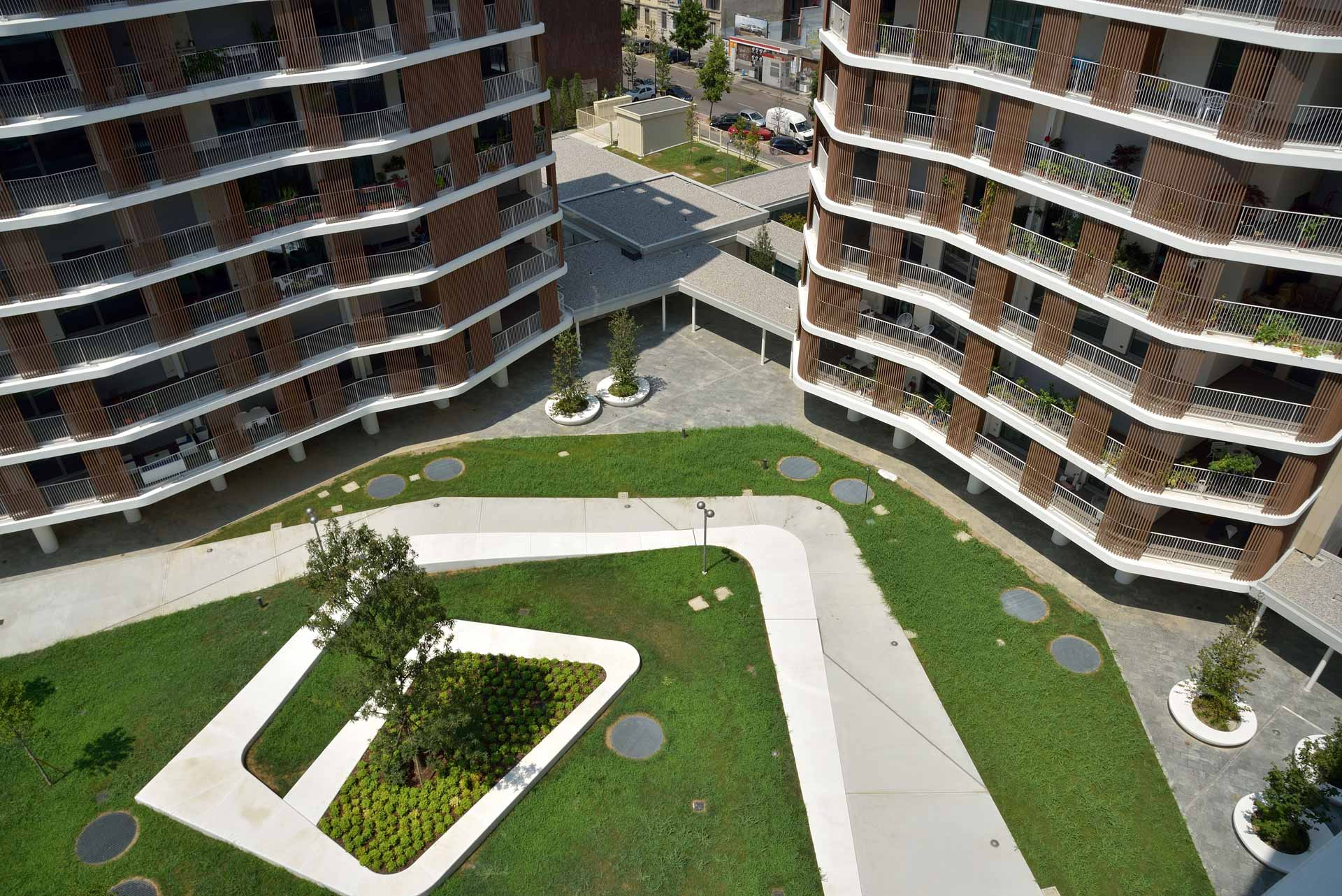 Frangisole per residence a Milano